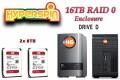 16TB Hyperspin Disk RAID